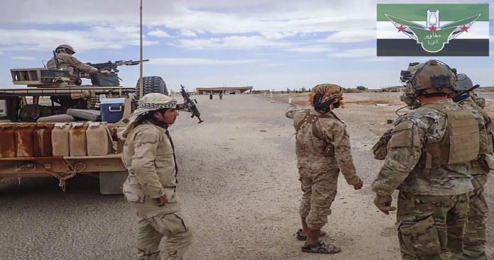 """إصابة قائد """"مغاوير الثورة"""" إثر اشتباكات مع """"تنظيم الدولة"""" في محيط قاعدة """"التنف"""""""