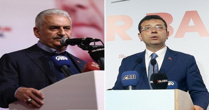 """""""يلدريم"""" و """"إمام أوغلو"""" يكشفان عن سياستها تجاه السوريين في إسطنبول"""