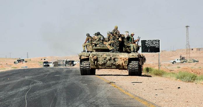 تنظيم الدولة يتراجع وقسد والنظام يتقدمون بدير الزور