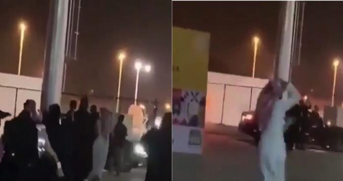صراخ وركض في الشارع.. حادثة صادمة بين مطرب مجنس وفتيات سعوديات في جنح الليل (فيديو)