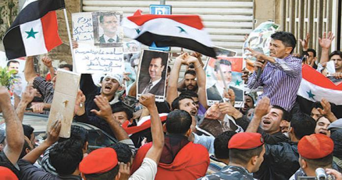 هل بدأت ثورة المؤيدين في سوريا؟