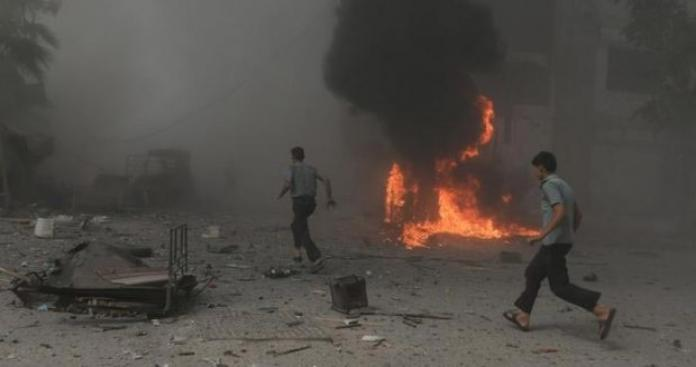 قتلى وجرحى في هجوم على مقر قيادة الشرطة في دمشق وتنظيم الدولة يعلن مسووليته