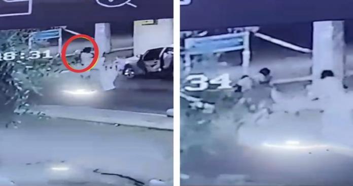 التفاصيل المثيرة لإنقاذ طفلة سعودية من الموت بعد سقوطها في خزان مياه (فيديو)