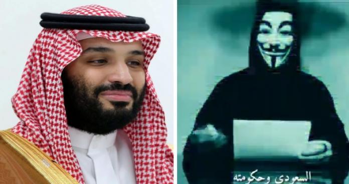 """أشهر مجموعة قرصنة عالمية """"أنيموس"""" تكشف مفاجأة بشأن محمد بن سلمان (فيديو)"""