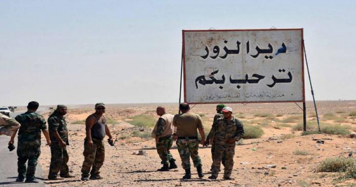 """تنظيم """"الدولة"""" يتراجع أمام قوات النظام شرق ديرالزور ويهاجم قرى محررة بحماة"""