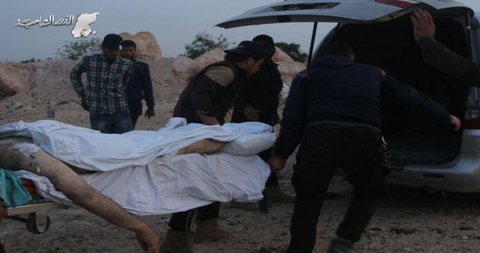 32 ضحية مدنية أمس الخميس في مناطق متفرقة بسوريا