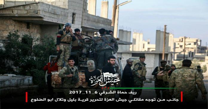 """على خلفية قطع الدعم عنه.. """"جيش العزة"""" يلجأ لتكتيك عسكري جديد ضد """"نظام الأسد"""""""