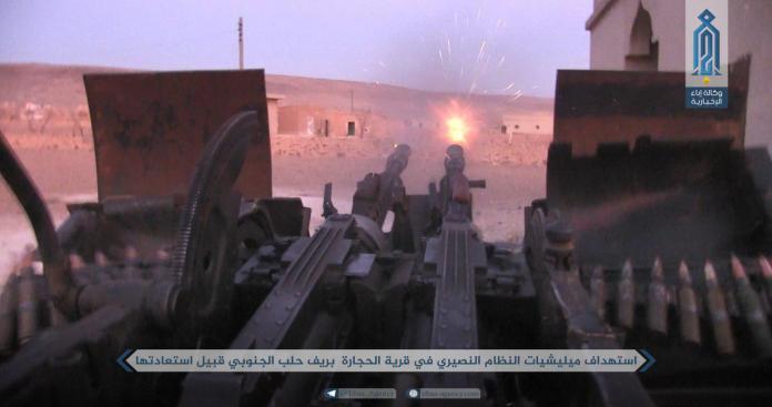 """""""تحرير الشام"""" تنتزع """"الرهجان"""" ونقاط أخرى من قبضة """"قوات الأسد"""" بحماة"""