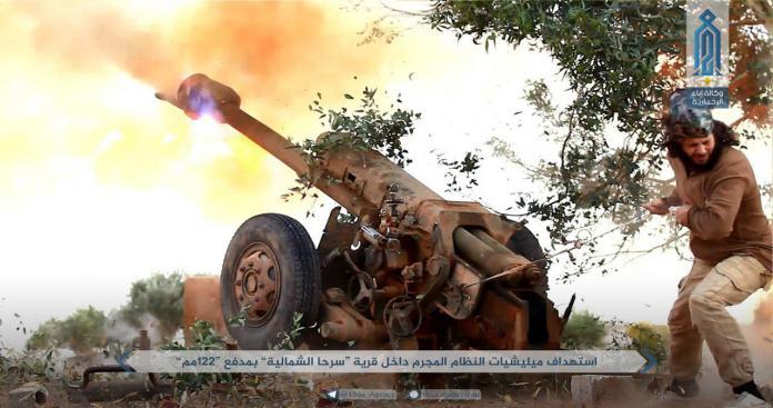 """قائد عسكري بـ""""تحرير الشام"""": قتلنا 20 عنصرًا للنظام بينهم مقدم شمالي حماة"""