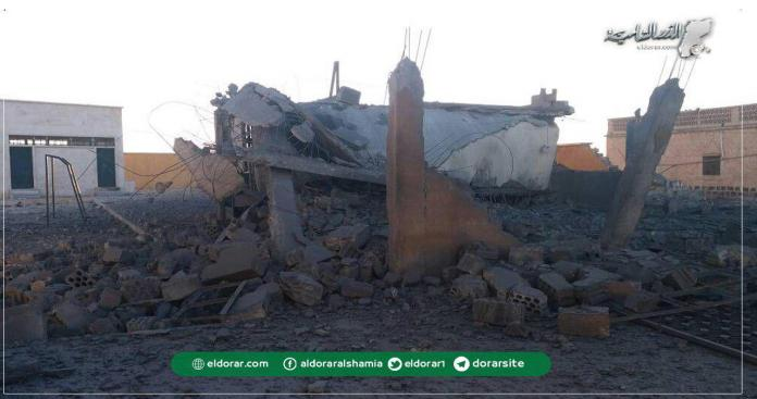 الطيران الروسي يستهدف قرى جنوب حلب بـ30 غارة.. ويدمر 3 مدارس