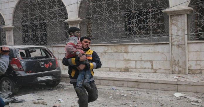 """""""الغوطة تحترق""""..مجازر دموية جديدة يرتكبها نظام الأسد"""