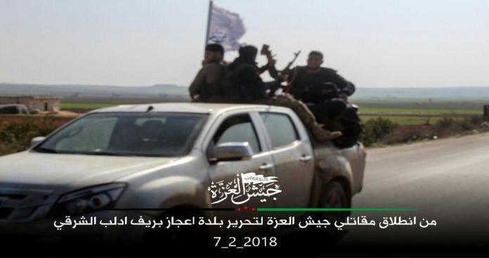 """""""جيش العزة"""" يتخذ موقفًا حاسمًا من اتفاق ريف حمص الشمالي"""