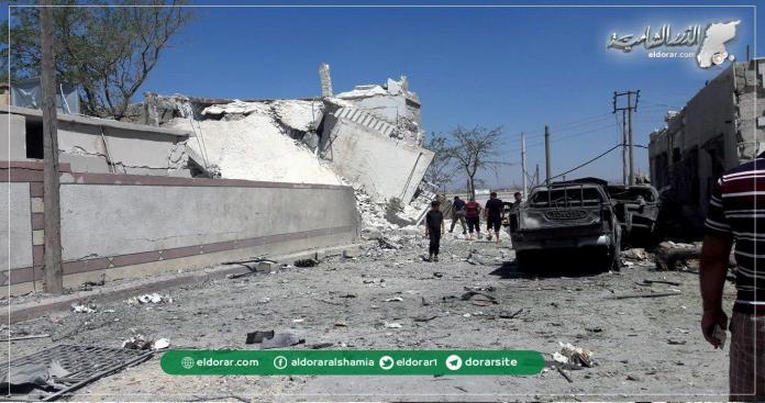 """المفخخات تضرب مناطق """"درع الفرات"""" شمال حلب وسقوط ضحايا """" صور"""""""