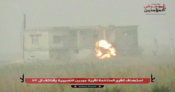 """""""وحرض المؤمنين"""" تكشف تفاصيل الإغارة الليلية على مواقع """"قوات الأسد"""" جنوب حلب"""
