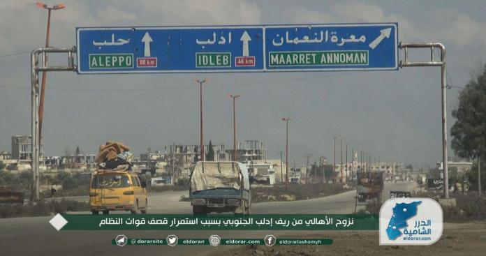 """""""قوات الأسد"""" ترتكب مجزرة وتشنّ حملة قصف عنيفة على ريفي إدلب وحماة.. وفصائل الثوار تردّ"""