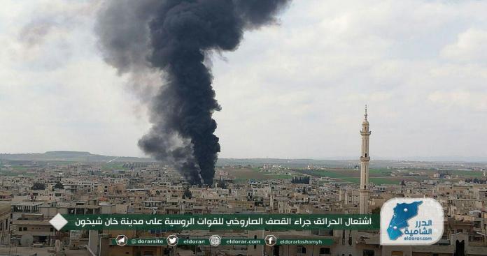 """صحيفة تكشف أسباب سماح روسيا لـ""""نظام الأسد"""" بالتصعيد ضد إدلب"""
