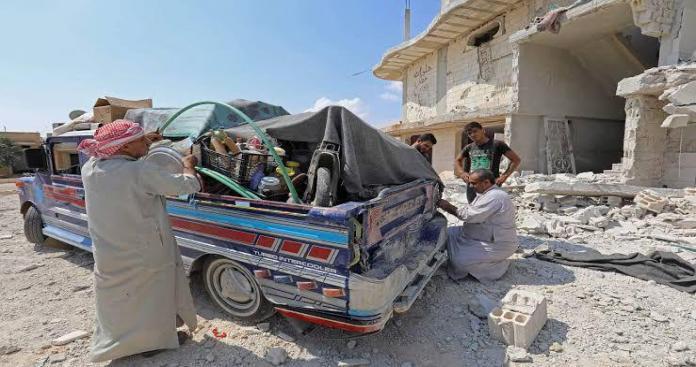 نظام الأسد يرتكب مجزرة بحق النازحين جنوب إدلب