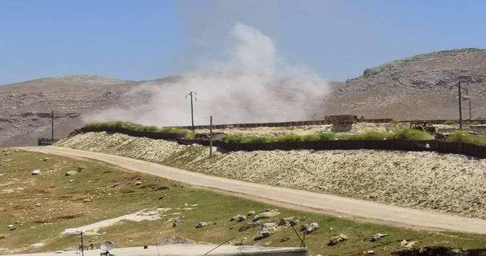 إصابة عدة جنود أتراك في قصف مدفعي لنظام الأسد على ريف حماة