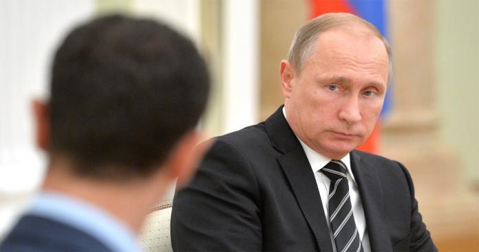 """تقرير: """"بوتين"""" غير راضٍ عن """"الأسد"""".. وطالبه بتنفِّيذ 4 بنود"""