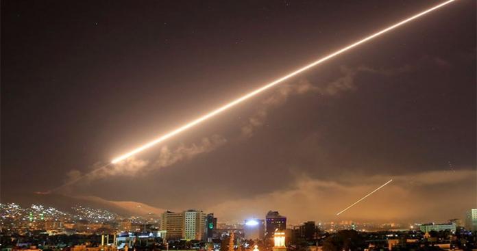 مقاتلات إسرائلية تشن غارات على منطقة الكسوة جنوب دمشق