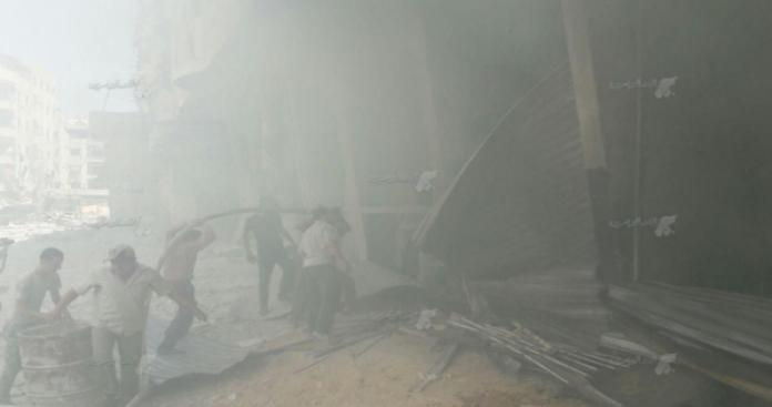قتلى مدنيون بقصف جوي روسي ومدفعي للنظام على الغوطة الشرقية وحماة