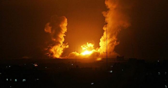 """بعد ساعات من تهديدات """"نصرالله"""".. طائرات إسرائيلية تقصف البقاع اللبناني"""