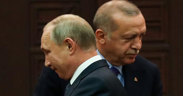 """خلافات بين """"أردوغان"""" و""""بوتين"""".. وتأثيره على ملفات سوريا وأفغانستان وليبيا"""
