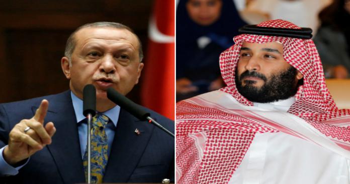 """الصراع يشتعل.. """"أردوغان"""" ينتقل لوضعية الهجوم ضد محمد بن سلمان"""