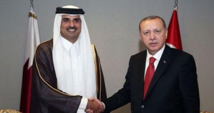 """على وقع عملية شرق الفرات.. اتصال عاجل بين تميم بن حمد و""""أردوغان"""" والكشف عن مفاجأة"""