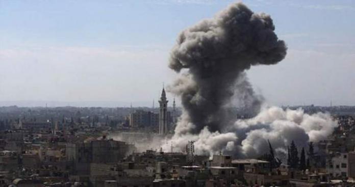 نظام الأسد يواصل حملته العسكرية على جنوب دمشق لليوم الثامن .. وسقوط 20 ضحية