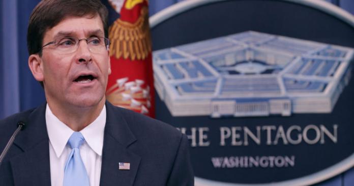 """وزير الدفاع الأمريكي يصدم تركيا بشأن الدعم الجوي لعملية """"درع الربيع"""" في إدلب"""