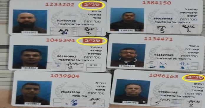 """أسير أردني محرر يكشف تفسير """"סיכוי גבוה לבריחה"""" في بطاقات الأسرى الفلسطينيين الهاربين"""