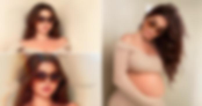 المغنية اللبنانية قمر تنشر صور حملها بدون زواج.. وتصرح بأنها مثل مريم العذراء
