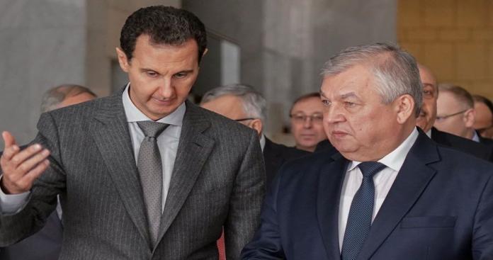 """مبعوث """"بوتين"""" يزور بشار الأسد في دمشق وهذه أبرز النقاط المعلنة بعد اللقاء"""