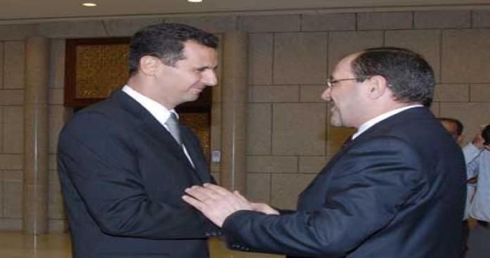 """""""إرهاب الأنظمة"""" مسئول عن الثورات.. المالكي والأسد: بقاء الكرسي ودمار الوطن"""