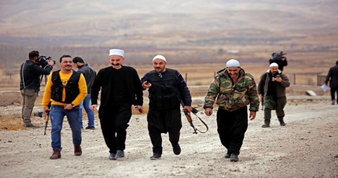 """""""رجال الكرامة"""" تُهاجم """"نظام الأسد"""".. وتتوعد بحرب مفتوحة"""