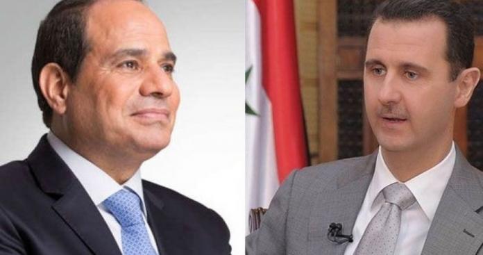 """صحيفة: """"السيسي"""" يضغط على الأردن لدعوة بشار الأسد للقمة العربية"""