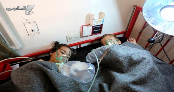 ردود أفعال الصحف العالمية حول مجزرة الكيماوي بإدلب