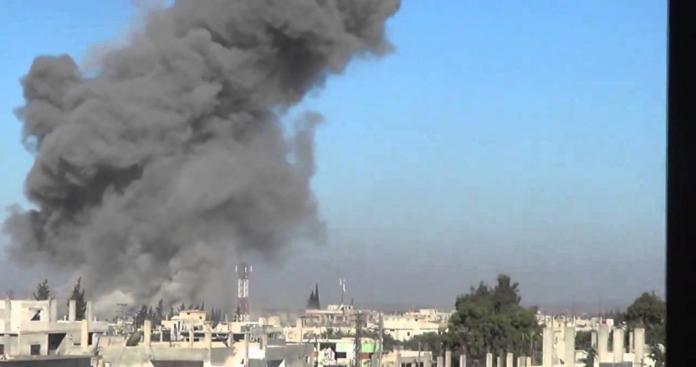 تصعيد روسي يخلف ضحايا ويخرج مشفى بالكامل عن الخدمة شمال حماة