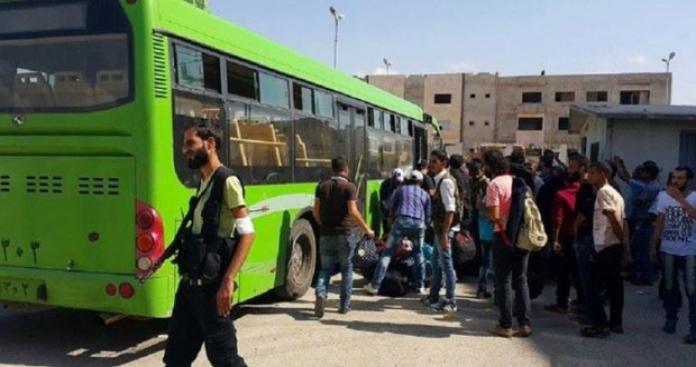 """بدء تنفيذ اتفاق """"التهجير"""" في شمال حمص"""