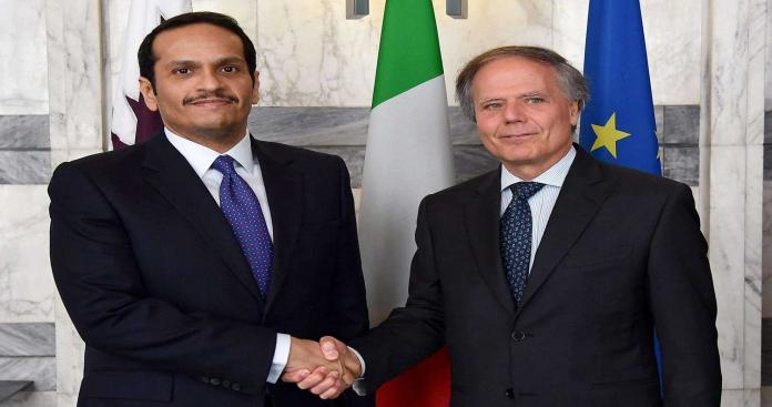 """صحيفة تكشف عن تحالف إيطالي - قطري في ليبيا.. والدوحة توجِّه أول رسالة للدول الداعمة لـ""""حفتر"""""""