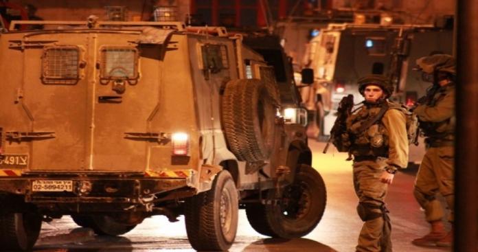حملة اقتحامات واعتقالات واسعة في مدن الضفة