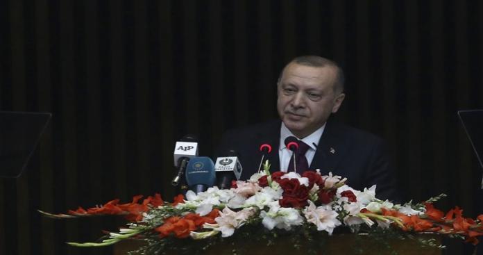 """""""أردوغان"""" يعلن قرارًا مهمًا أمام البرلمان الباكستاني بشأن السعودية"""
