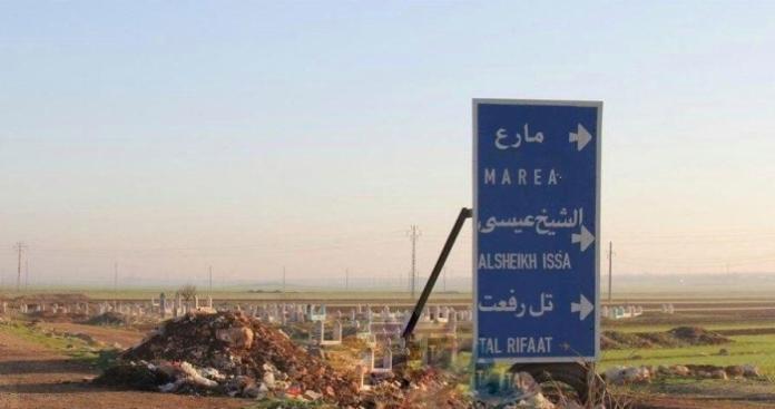 """وفد عسكري تركي يطلع أهالي """"تل رفعت"""" على تفاصيل مباحثاتهم مع الروس بشأن المنطقة"""