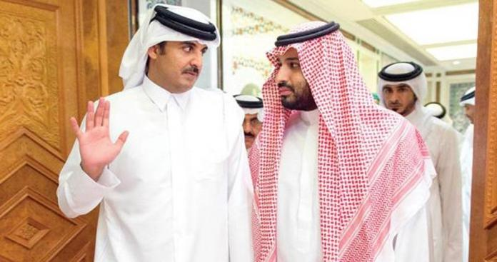 """مصدر يكشف خطة قطر الجديدة ضد محمد بن سلمان.. رأس حربتها """"الجزيرة"""""""
