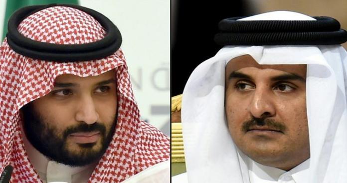 لأول مرة منذ المقاطعة الخليجية.. سرَّ مفاجئ عن حرب محمد بن سلمان وتميم بن حمد
