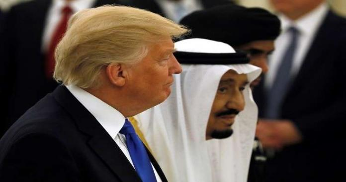 """بعد موافقة الملك سلمان على دخول قوات أمريكية.. تصريح صادم من """"ترامب"""" للسعودية"""