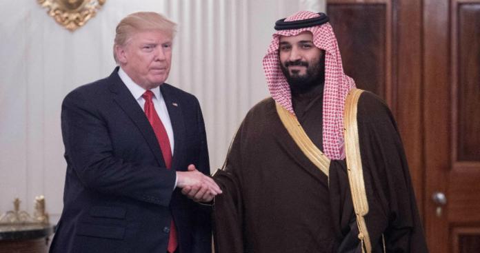 """""""ترامب"""" يصدم مذيعة قناة """"إن بي سي"""" الأمريكية بشأن محمد بن سلمان"""