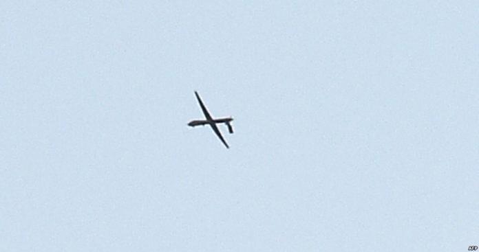دفاعات جيش الاحتلال تدمر طائرة قادمة من سوريا بسماء الجولان (فيديو)