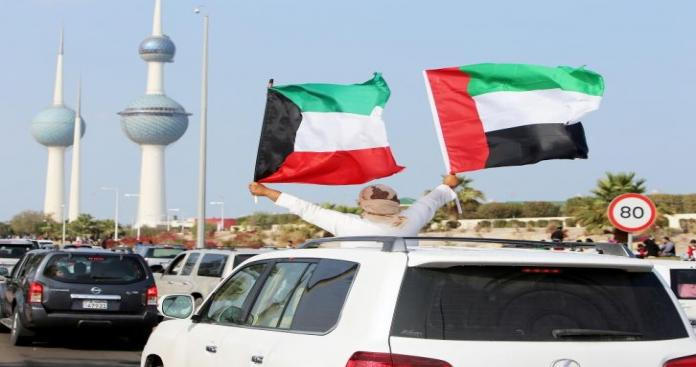 """شاهد.. ضيف """"غير مسبوق"""" يحل على دولة الكويت وسط تفاعل شعبي كبير (صور)"""